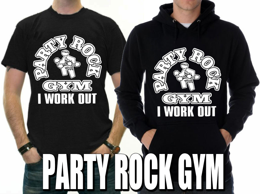 Party Rock Gym I Work Out Men's T-Shirt