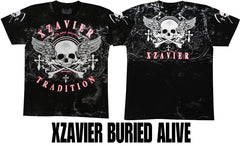 "Xzavier ""Buried Alive"" Men's T-Shirt (Black)"