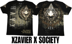 "Xzavier ""X Society"" Men's T-Shirt (Black)"