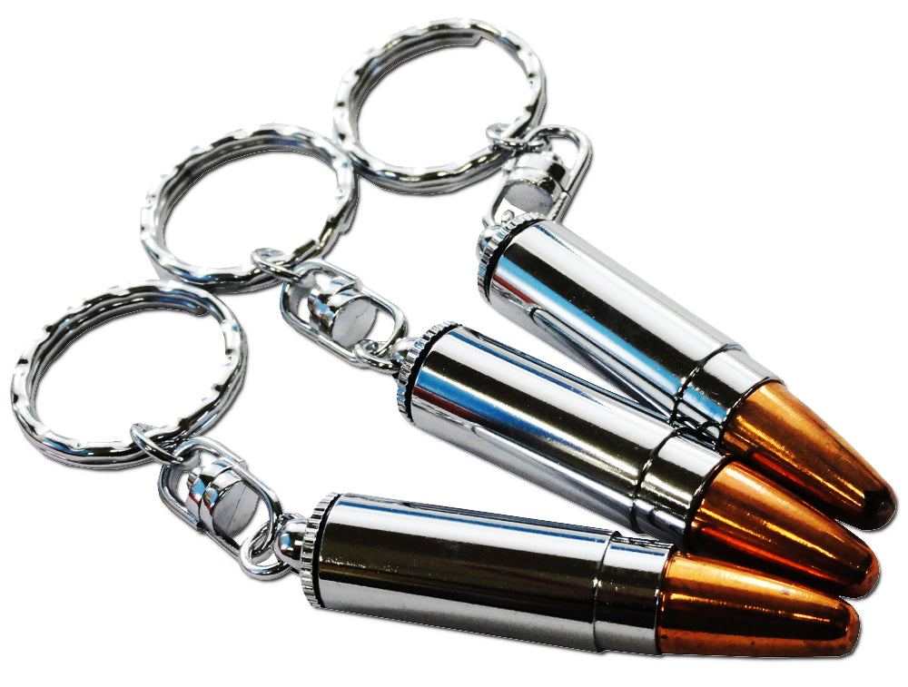 Bullet Stash Key Chain