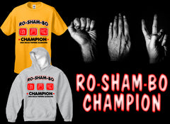 Ro-Sham-Bo Champion T-Shirt :: Rock Paper Scissors Game from South Park