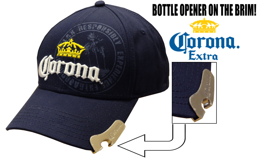 "Corona ""Find Your Beach"" Bottle Opener Hat"