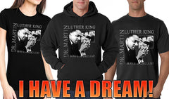 "Dr. Martin Luther King Jr. ""I Have a Dream"" Adult Hoodie"