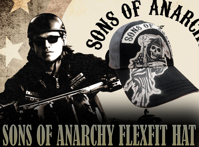 "Sons Of Anarchy ""Grim Reaper"" FlexFit Hat"