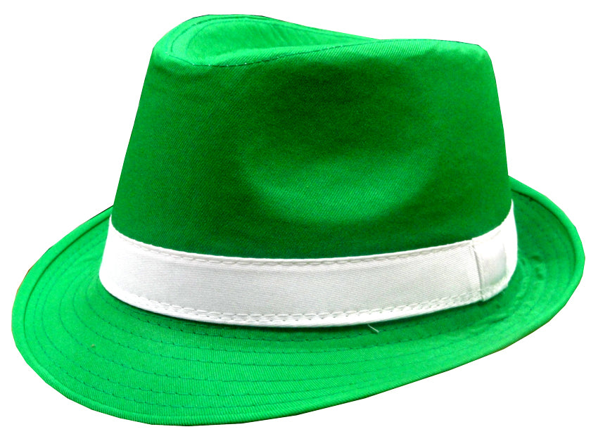 St. Patrick s Day Irish Kelly Green Fedora Hat – Bewild 146117b5517