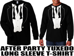 The After Party Long Sleeve Tuxedo T-Shirt