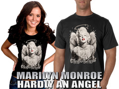 "Marilyn Monroe ""Hardly An Angel"" Girls T-Shirt"