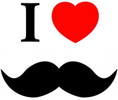 I Love Mustache iphone Case ( iphone 5)