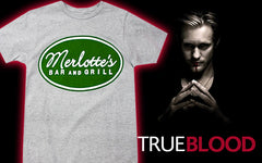 Official True Blood Merlotte's Bar And Grill T-Shirt
