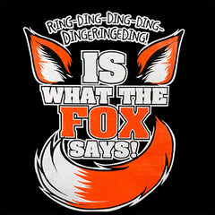 What Does The Fox Say? Ring-Ding-Ding-Ding Girl's T-Shirt