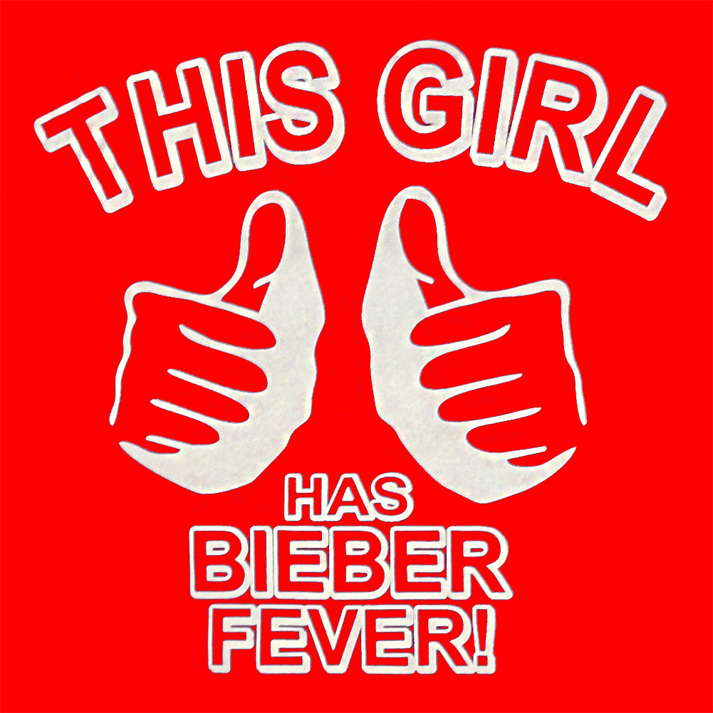 This Girl Has Bieber Fever Kid's T-Shirt