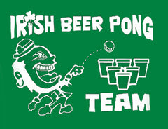 Beer Pong Shirts - Irish Beer Pong Team Girls T-Shirt
