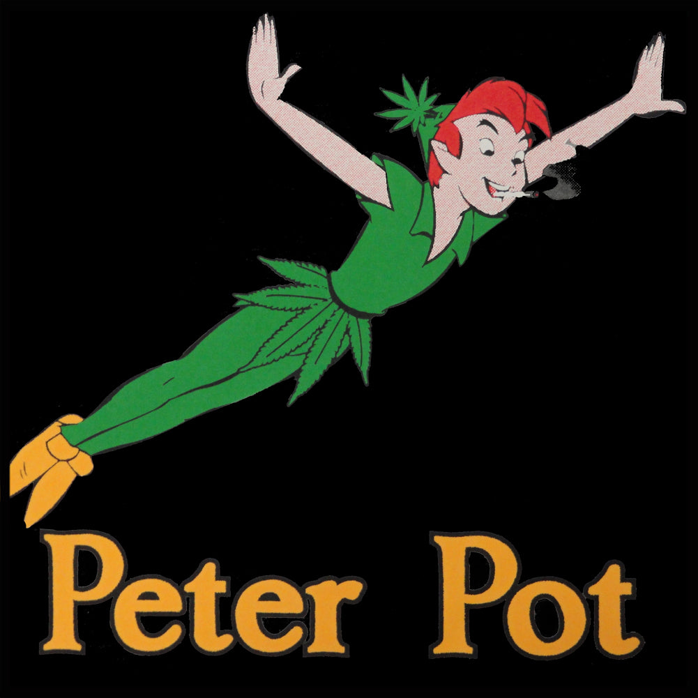 Peter Pot Funny Girl's T-Shirt