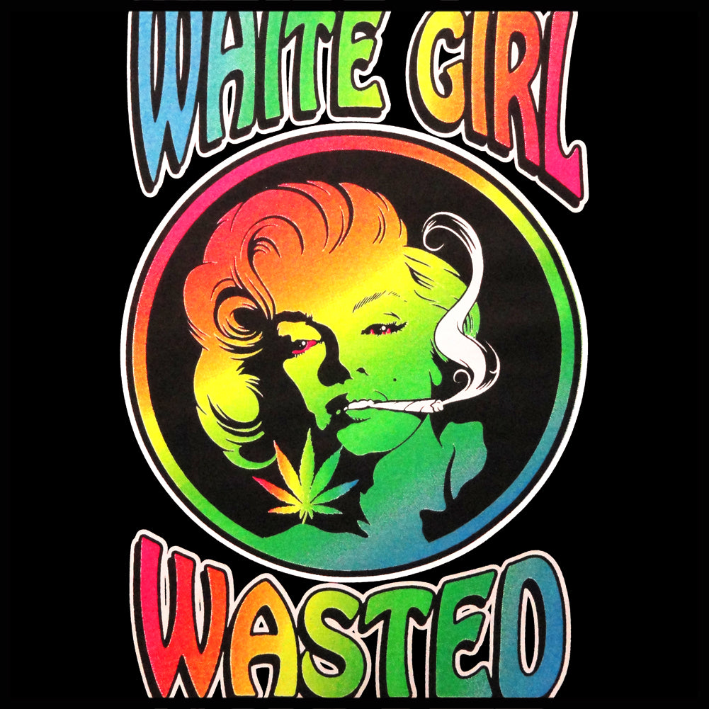 Marilyn Monroe - White Girl Wasted Girl's T-Shirt