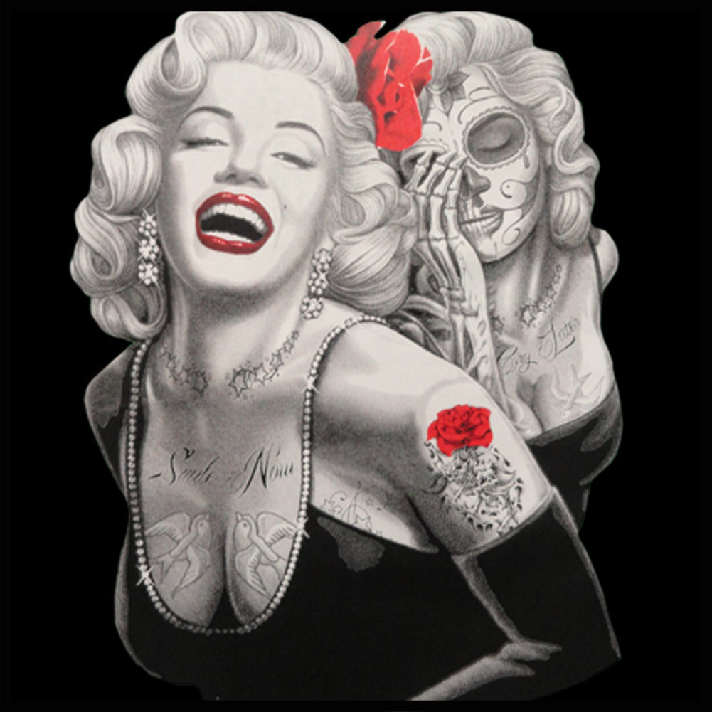 Marilyn Monroe Smile Now Cry Later Men's T-Shirt