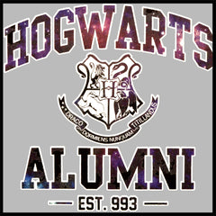 Hogwarts Alumni Galaxy Men's T-Shirt