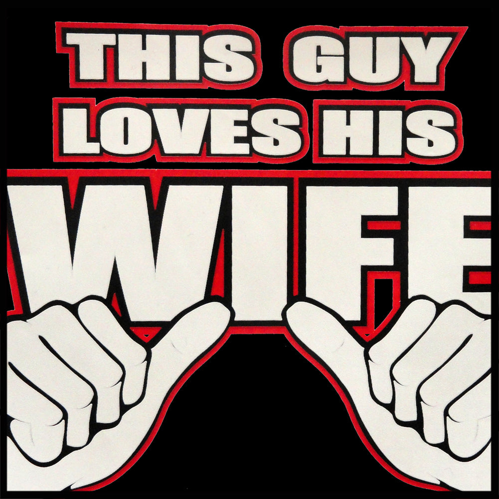 This Guy Loves His Wife Men's T-Shirt