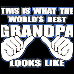 World's Best Grandpa Adult Hoodie