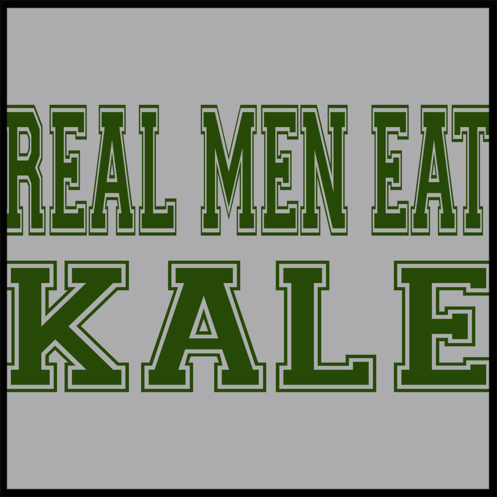 Real Men Eat Kale Adult Hoodie