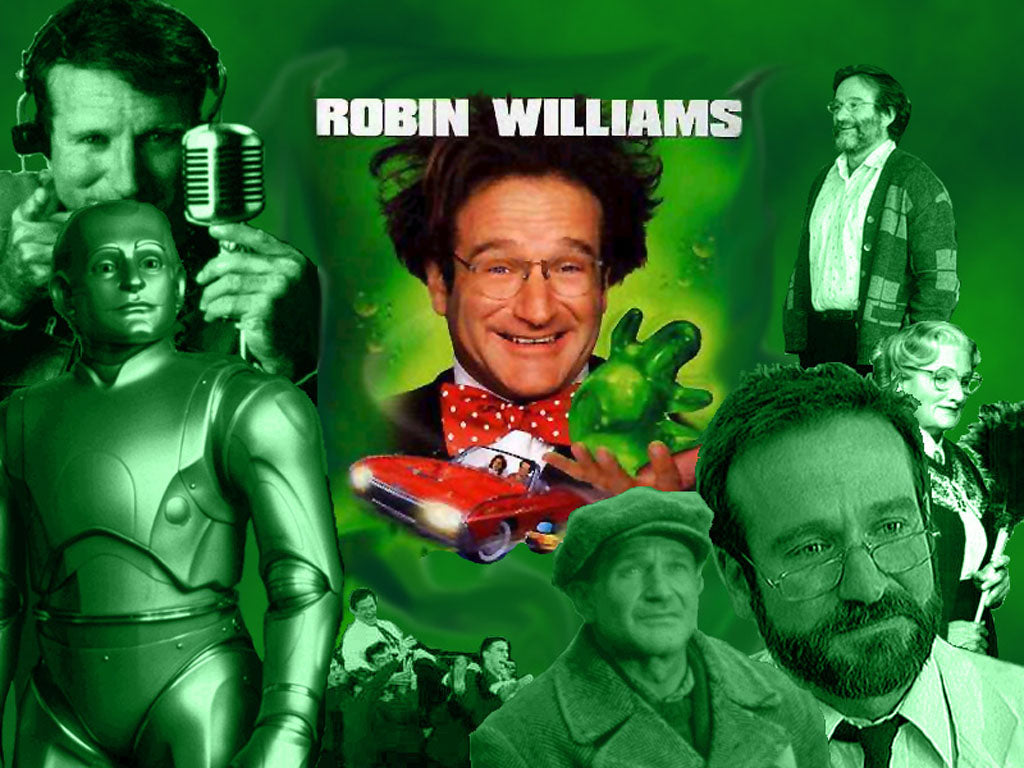 Robin Williams Tribute Mens T-shirt