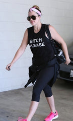 Bitch Please, as worn by Khloe Kardashian Mens T-shirt