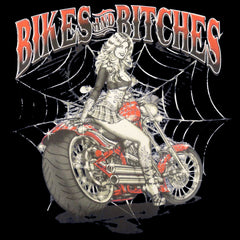 Bikes and B*tches Biker Tank Top