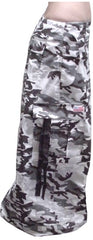 "Unisex 40 "" Wide Leg UFO Pants (Grey Camo)"