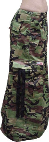 "Unisex 40 "" Wide Leg UFO Pants (Green Camo)"