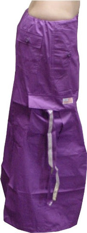 Ufo Utility Cargo Skirt  (Purple)