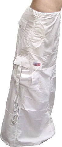 Ufo Utility Cargo Skirt (Blacklight Responsive Super White)
