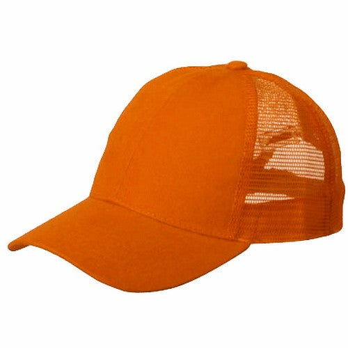 Vintage Trucker Hats - Solid Orange Trucker Cap