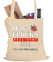 Waka Flocka for President 2016 Tote Bag