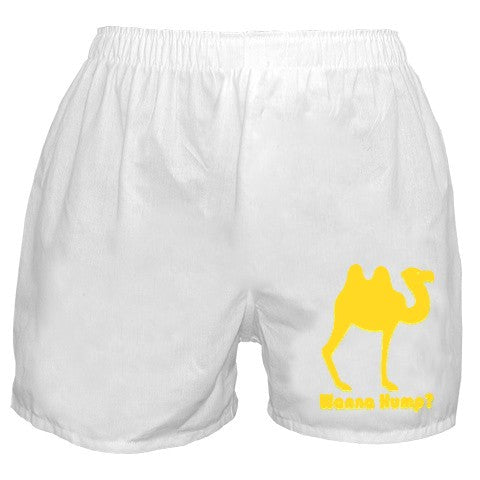 Wanna Hump? Boxer Shorts