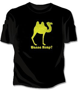 Wanna Hump? Girls T-Shirt