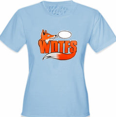 WDTFS What Does The Fox Say? Girl's T-Shirt