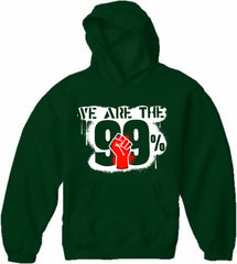 We Are The 99% Adult Hoodie