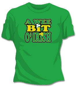 Wee Bit O'Irish Woman's T-Shirt