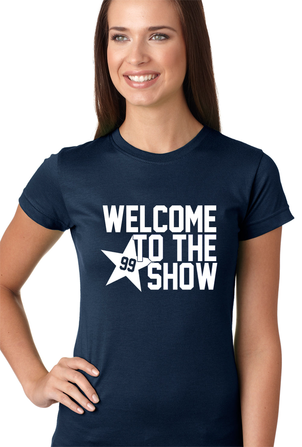 Welcome To The Show Watt Houston Girls T-shirt