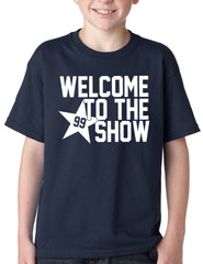 Welcome To The Show Watt Houston Kids Youth T-shirt