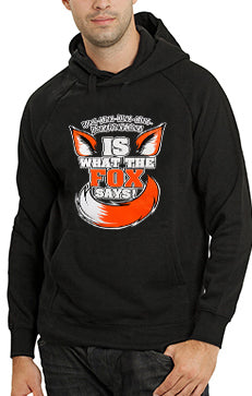 What Does The Fox Say? Ring-Ding-Ding-Ding Adult Hoodie