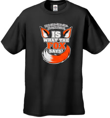 What Does The Fox Say? Ring-Ding-Ding-Ding Kid's T-Shirt