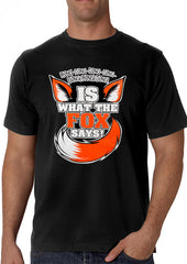 What Does The Fox Say? Ring-Ding-Ding-Ding Men's T-Shirt