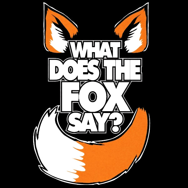 What Does The Fox Say? YLVIS YouTube Video Adult Hoodie