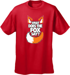 What Does The Fox Say? YLVIS YouTube Video Kid's T-Shirt