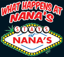What Happens At Nana's House Kids T-Shirt