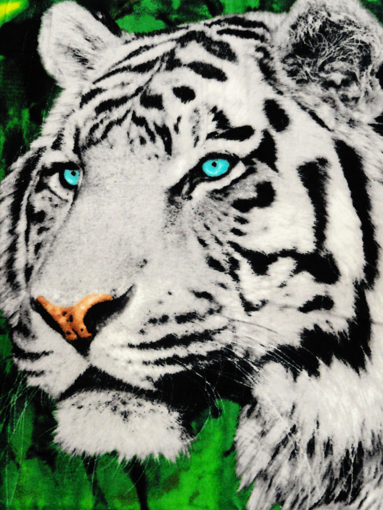 White Tigers Beach & Bath Towel