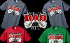 Who's An Awesome Grandpa? This Guy Men's Hoodie