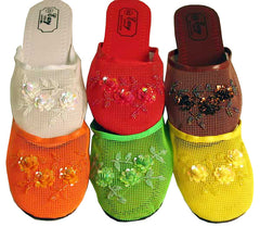 Wholesale Chinese Mesh Woman's Slippers (Case of 96)