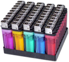 Wholesale Disposable Lighters (50 Pack only 24¢ Each)