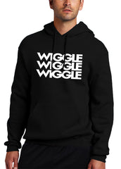 Wiggle Song Lyric Adult Hoodie